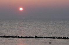 Abendstimmung am Strand von Ahrenshoop.