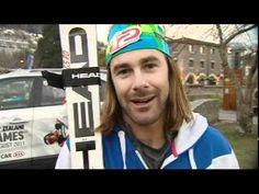 26 August 2011 100%Pure NZ Winter Games action - men's giant slalom ski race at Coronet Peak