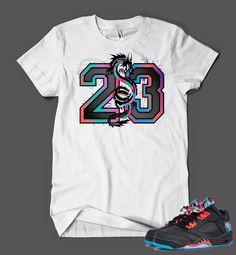 T Shirt To Match Retro Air Jordan 5 Low Chinese New Year Shoe