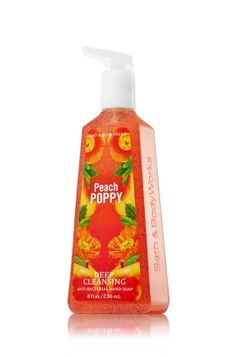 Peach Poppy Deep Cleansing Hand Soap - Anti-Bacterial - Bath & Body Works