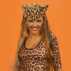 Peluca de Leoparda #sombrerosdisfraz #accesoriosdisfraz #accesoriosphotocall