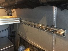 Get everything you need to install the MOAB elevator bed and the Monk Bunk inside a Sprinter 2007+ Van. This includes wall bracers and L-track. Compatible with