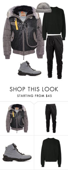 """Parachute Jumper"" by mh3914rp ❤ liked on Polyvore featuring Parajumpers, Ideology, Versace, Alexander Wang, men's fashion and menswear"
