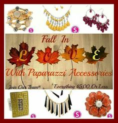 $5 Paparazzi Accessories! Contact me for more info and purchasing :) email me at gjoen84@yahoo.com and please like my fan page www.facebook.com/holliestreasurebox to get updates on the latest trends and also great deals, giveaways and more!
