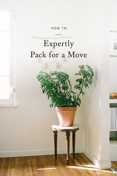 a quickly approaching moving date can often seem more overwhelming than exciting. though if you're able to strategically plan ahead just a bit, you can find ways to make the process a little less daunting. click through for our guide to expertly packing for a move.