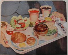 1950s Trans World Airlines TWA vintage advertisement illustration by Christian Montone, via Flickr
