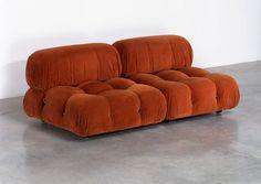 at home + Mario Bellini Camaleonda Sofa Furniture, Sofa Chair, Shabby Chic Furniture, Vintage Furniture, Furniture Design, Furniture Makeover, Furniture Stores, Chicago Furniture, Wedding Furniture