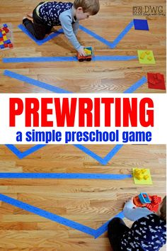 Prewriting activities for preschool. Learning from an early age. Informations About Prewriting Activities for Preschoolers — Days With Gre Transportation Activities, Motor Skills Activities, Preschool Learning Activities, Kids Learning, Toddler Gross Motor Activities, Pre School Activities, Color Activities For Toddlers, Summer Activities For Preschoolers, Activities For 3 Year Olds