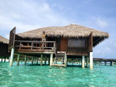 Bungalows in the Maldives :)