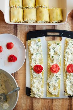 Lasagna Roll-Ups Great idea and easy to veganize with my cashew ricotta :)