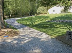 Gravel is another good permeable material for driveway surfaces. On steep grades, however, gravel can erode in heavy rains.