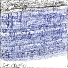 Harald Stoffers / Letter 170, Indian ink on paper, 2010 - Asemic writing