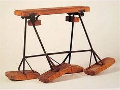 HAVE TO  MAKE THIS!!!!  Charles and Ray Eames, Childrens' Mechanical Horse, c1948.