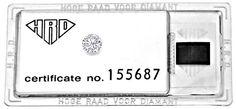 Foto 1, DIAMANT 1,09ct BRILLANT HRD LUPENREIN WESSELTON DIAMOND, D5135