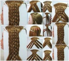 I mean, seriously. | 35 Mind-Bogglingly Complicated Braids That Are A Feat Of Human Ingenuity