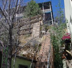 stairs and more stairs, Bisbee, AZ