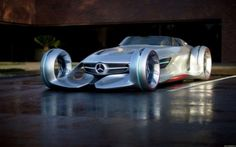 Mercedes Silver Arrow – futuristic concept for Hollywood