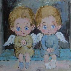 Нино Чакветадзе. «Близнецы». #georgia#saqartvelo#sakartvelo#art#сакартвело#arts#painting#nature#tbilisi#искусство#грузия#кавказ#vsco#vscogeorgia#vscorussia#tbilisi#love#inspiration#colors#вдохновение#тбилиси#любовь#красота#живопись#батуми#batumi#picasso#dali#pirosmani#картины#галерея