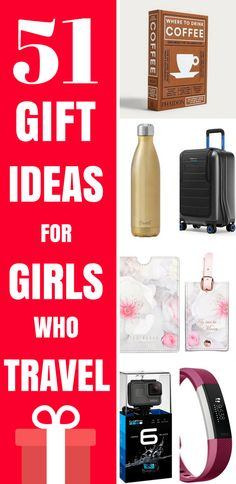 51 amazing gift ideas for female travellers. If you're struggling to decide what to buy the adventurous lady in your life, this gift guide for women who travel will inspire you, with the best travel gadgets and electronics for travellers, beauty gifts for frequent flyers, travel inspired home accessories and even what to buy women who prefer experiences to material things.