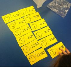 The Elementary Math Maniac: Common Core Standards for Telling Time: Grade 1