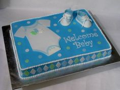 Baby Boy Cake  By ton247 on CakeCentral.com
