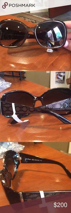 0bef0d90faa Ferragamo sunglasses new Brand new ferragamo brown ladies sunglasses  Leftover inventory no scratches never worn Ferragamo