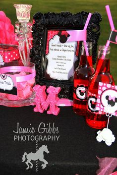 "Photo 1 of 22: Minnie / Birthday ""Minnie Mouse Party"" 