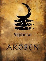 Akoben Adinkra Symbol - by Grimalkin Studio / Kandy Hurley  #AfricanArt  AdrinkraSymbol #Artforsale @grimalkinart