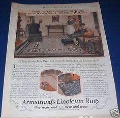 35 Best Linoleum Rugs C 1920s 1950s Images Vintage Ads