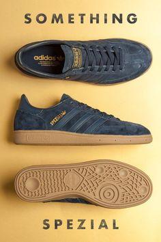on sale f525b 2e4b9 adidas Originals Spezial Navy Best Adidas Shoes, Mens Adidas Originals  Trainers, Men Trainers
