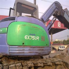 When working out the buying details,set the terms so that you can purchase the Used Hitachi Excavator in a suitable solution. If you want,you can visite our website to get the information about excavator. Used Excavators, Komatsu Excavator, New Shows, Learning, Website, Studying, Teaching, Onderwijs
