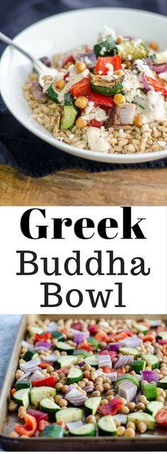 Greek Buddha Bowl