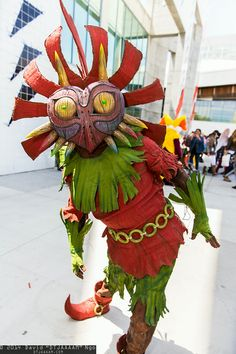 Skull Kid - The Legend of Zelda: Majora's Mask cosplay #Fanime2014