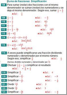 Matemática, espíritu y arte: Suma de Fracciones de Distinto ...