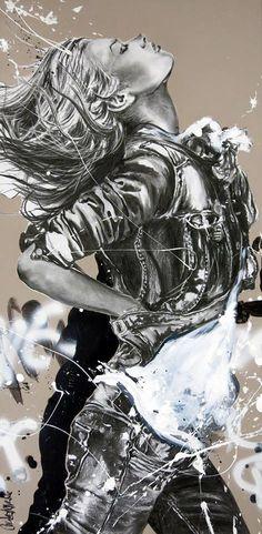 ideas about Galerie Peinture Street Art Banksy, Graffiti Wall Art, Pop Art, L'art Du Portrait, Art Drawings Beautiful, Bild Tattoos, Illustration Art Drawing, Digital Art Girl, Cecile