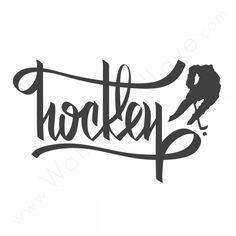 Hockey.   Tattoo idea???