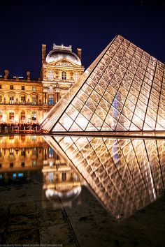 Night at The Louvre ~ Paris, France