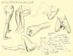 Hampton p.178-201: L/E - Leg Studies V by theThirdCartel