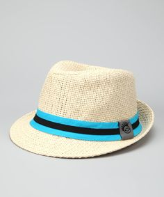 Natural Chillin' Fedora from Knuckleheads on #zulily! #Fall Essentials - Dashing!