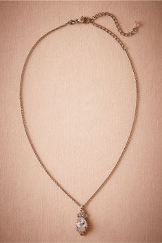 Lettice Pendant Necklace in Shoes & Accessories Jewelry at BHLDN