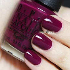 OPI Nail Polish Casino Royale New James Bond Skyfall 007 Collection Britt we need to find this for our nails :) Opi Nail Polish, Opi Nails, Nail Polish Colors, Maroon Nail Polish, New Nail Colors, Nail Polishes, Cute Nails, Pretty Nails, Make Up Braut