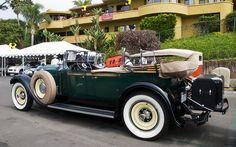 1928 Packard 443 Dual Windshield Phaeton - green - rvl by Pat Durkin - Orange County, CA, via Flickr