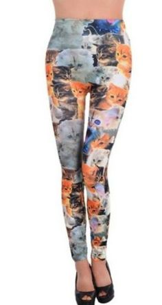 Amour - Woman Lady Elastic Waist Cute Cats Lovely Print Ankle Length Footless Pantyhose Skinny Leggings Pants One size Amour http://www.amazon.com/dp/B00CHMKA8G/ref=cm_sw_r_pi_dp_fjipub18M0MKS