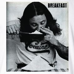 Breakfast Cocaine Shirt | Skibal T-shirts and Custom Apparel