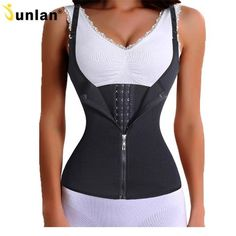 3e5985c8886 waist cincher shaper slimmer long torso corset waist trainer shaper tummy  control shapewear tank underbust waist trainer long torso for women SEXY ...