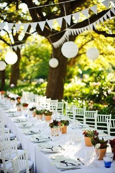Outdoor Garden Weddi