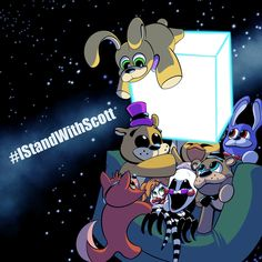 Scott Cawthon, Fnaf Sl, Fnaf Sister Location, Fnaf Characters, Cartoon Crossovers, Anime Fnaf, Anime Drawings Sketches, Five Nights At Freddy's, Foto E Video
