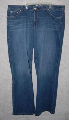 ND New Directions Weekend Bootcut Womens Plus Jeans Sz 22W 22 W #NewDirections #BootCut
