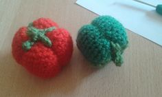 Paprika Chrochet, Strawberry, Fruit, Projects, Food, Red Peppers, Crochet Hooks, Log Projects, Ganchillo