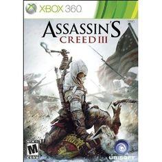 Assassin's Creed III --- http://www.amazon.com/Assassins-Creed-III-Xbox-360/dp/B0050SYLRK/?tag=chowkscom-20
